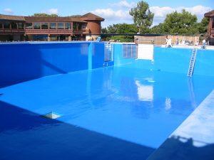 Shamu Pool Recoat