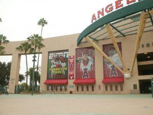 Angels Stadium Repaint