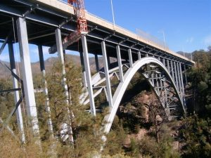 """Snooper"" Access Los Alamos Bridge, NM"