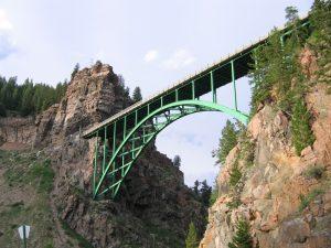 Red Cliff Historic Arch Bridge, Colorado Rockies