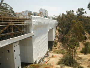 Full Containment 1st Ave Bridge San Diego