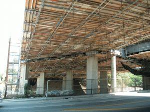 """Dance Floor"" access Major Bridge Los Angeles"