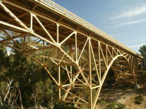 Historic 1st Ave. Bridge San Diego, CA