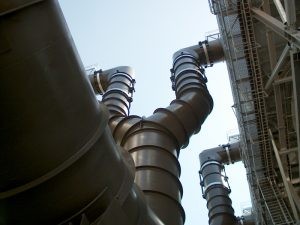 Steam Ductwork, Bighorn Power Project, Primm, NV