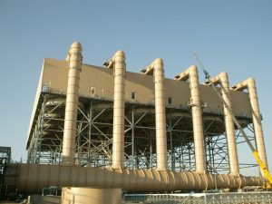 Air Cooled Condenser, Colusa Power Project, CA